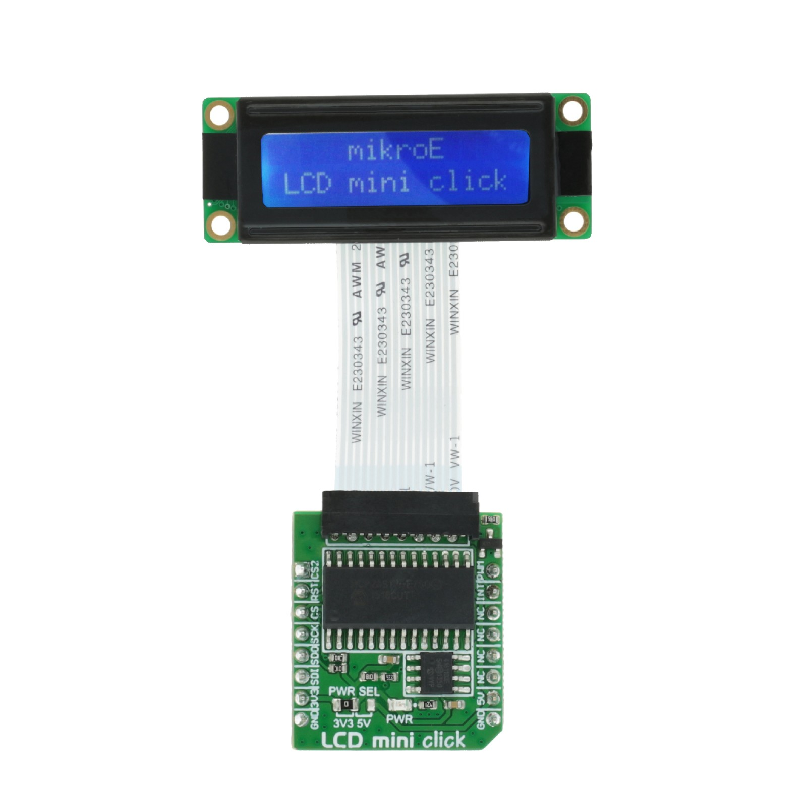 Lcd Mini Click Displays 16x2 Monochrome Characters On A Display Interfacing With Avr Electronic Circuits And Diagram Mgctlbxnmzp Mgctlbxv5112 Mgctlbxlc Mgctlbxpprestashop