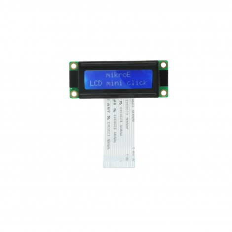 MikroElektronika LCD mini display