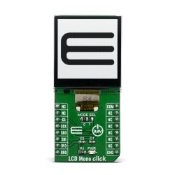 Shop Click Boards Display & LED LCD Mono Click Front