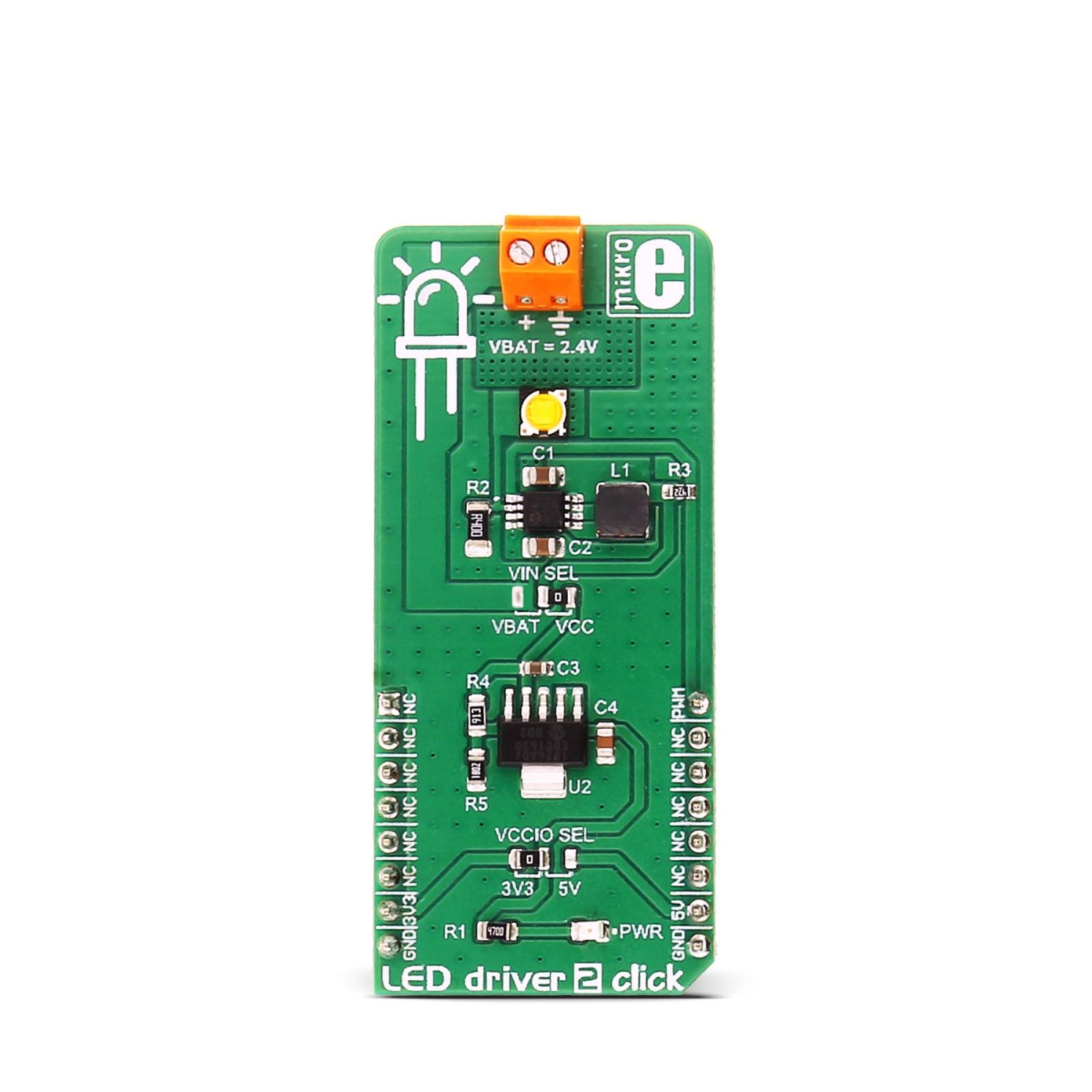 Led Driver 2 Click Mikroelektronika Circuit For Mgctlbxnmzp Mgctlbxv5112 Mgctlbxlc Mgctlbxpprestashop
