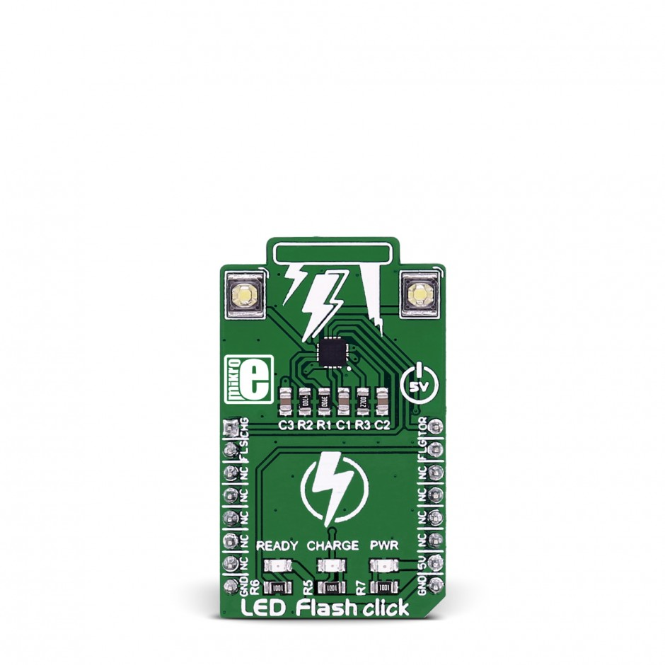 Led Flash Click A High Power Mikroelektronika Flashlight Use Supercapacitor Circuitschematic