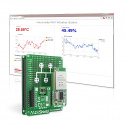 Let's make - mikromedia WiFi Weather Station