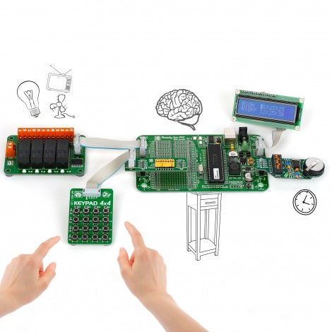 MikroElektronika Development Kits Programmable Timer Relays (PIC)