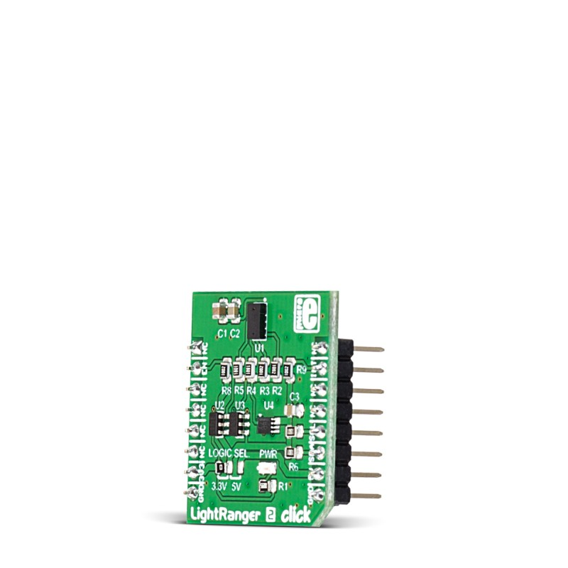 LightRanger 2 click — board with VL53L0X sensor | MikroElektronika