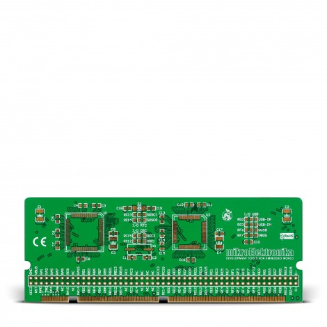 LV-32MX v6 100-pin TQFP MCU Card Empty PCB