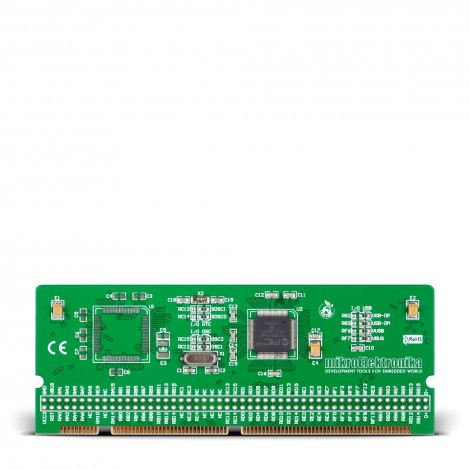 LV-32MX v6 100-pin TQFP MCU Card with PIC32MX460F512L