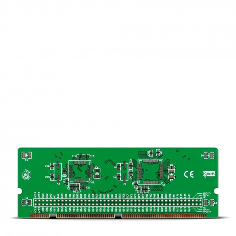 MikroE LV18F v6 64-100-pin Ethernet TQFP MCU Card Empty PCB
