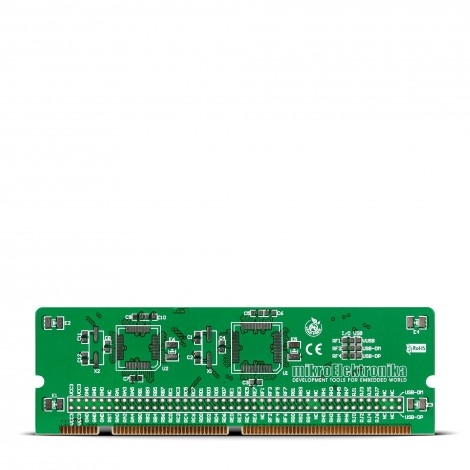 LV18F v6 64-80-pin TQFP MCU Card Empty PCB