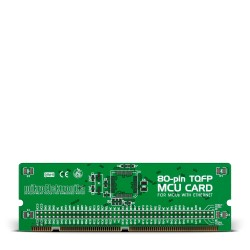 LV18F v6 80-pin Ethernet TQFP MCU Card Empty PCB