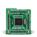 100-pin MCU card with PIC24FJ128GA010