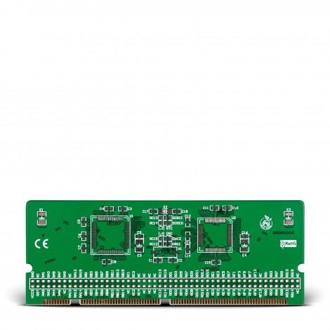 LV-24-33 v6 100-pin TQFP 2 MCU Card Empty PCB