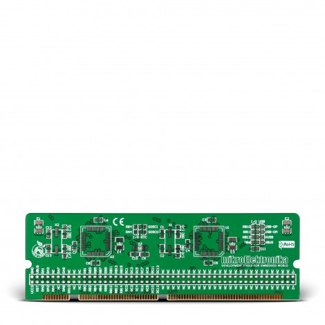 LV-24-33 v6 44-pin TQFP MCU Card Empty PCB