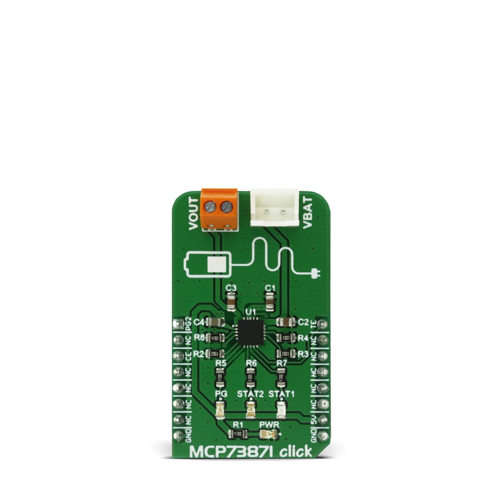 MCP73871 | MikroElektronika