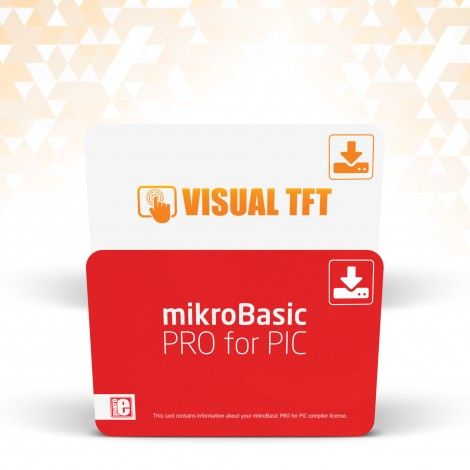 mikroBasic PRO for PIC + Visual TFT Special Offer