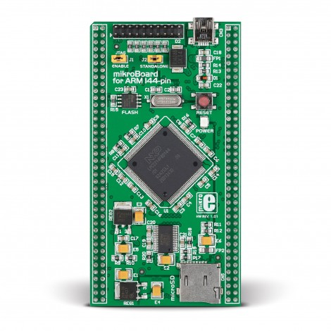 mikroBoard for ARM 144-pin