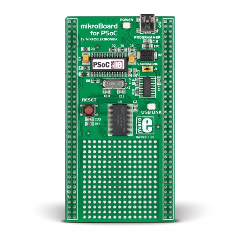 mikroBoard for PSoC with CY8C27643