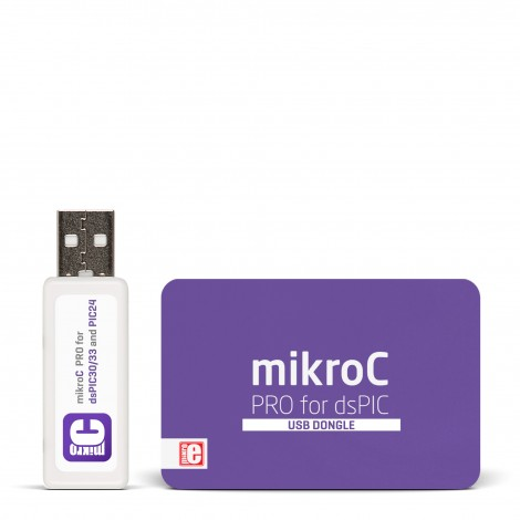 mikroC PRO for dsPIC/PIC24 (USB Dongle)