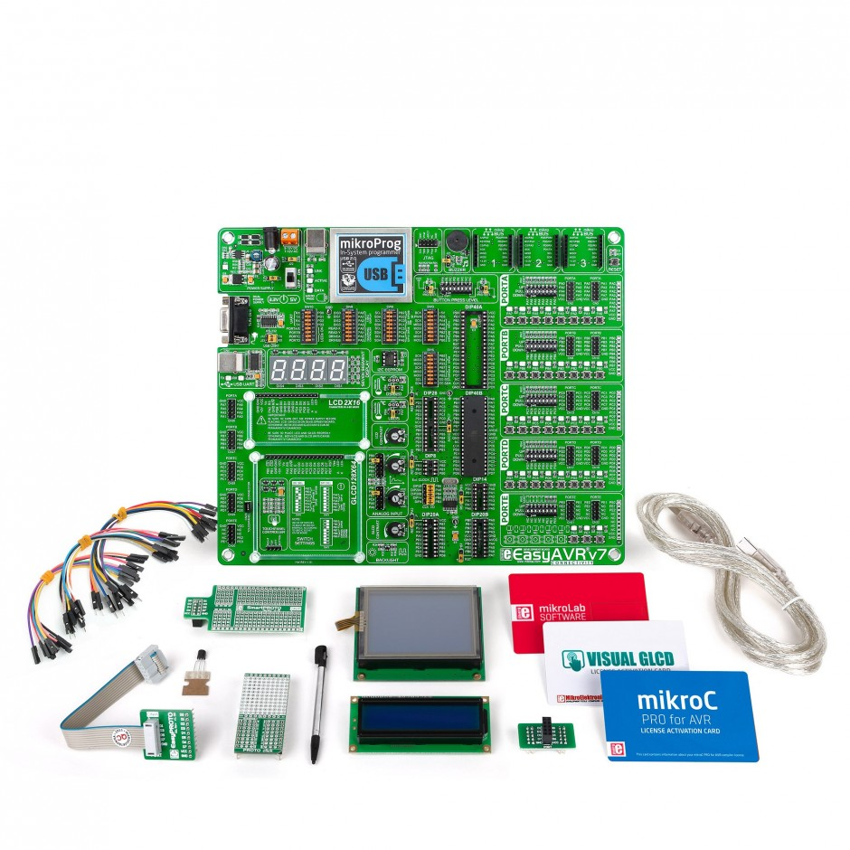Mikrolab For Avr One Kit All Your Atmel Low Pin Count Usb Programmer Using Atmega8
