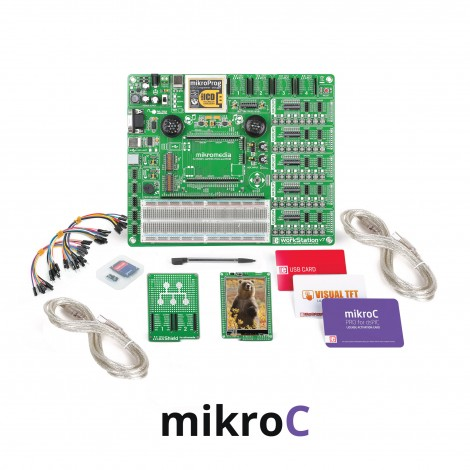 mikroLAB for mikromedia - dsPIC33EP mikroC