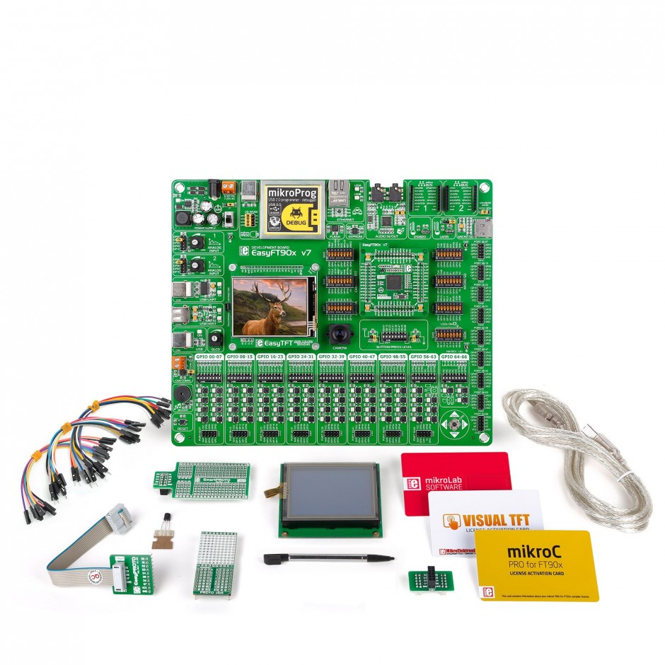 Mikrolab For Ft90x One Kit All Your Ftdi Microcontroller Question Electronics Forum Circuits Projects And Microcontrollers