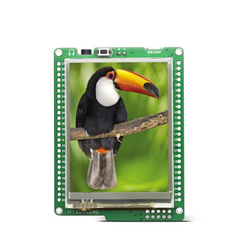 Legacy Products Smart displays mikromedia for ATMEGA
