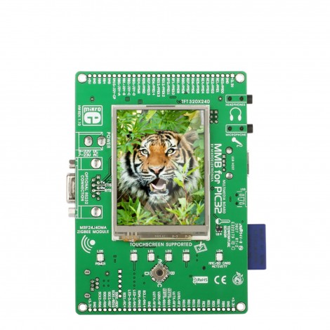 PIC32MX4 MultiMedia Board