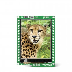 mikromedia for STM32 M3 front