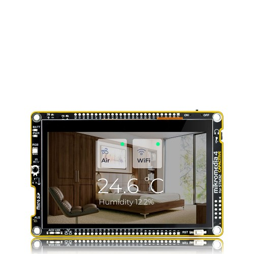 BLE2 click — board with RN4020 Bluetooth 4 1 module