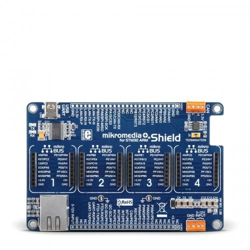 Mikromedia Plus for STM32 - Mikroe