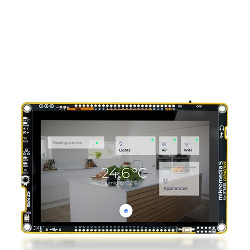 GSM/GNSS click — board with Quectel's MC60 quad-band module