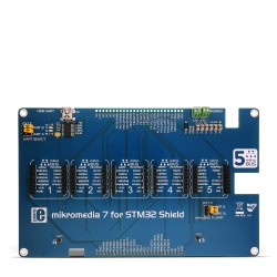 mikromedia 7 for STM32 Shield front