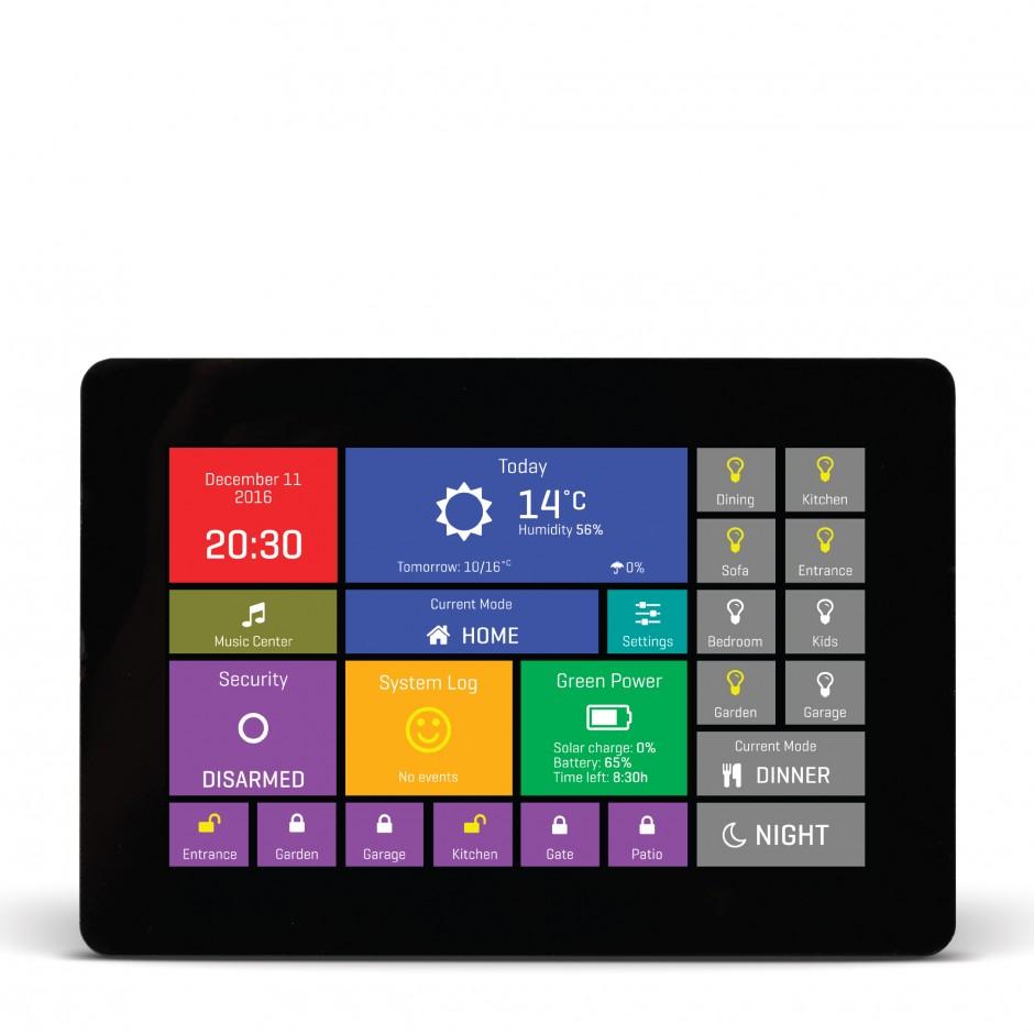 mikromedia hmi 5 uxb smart display w capacitive touch 32 bit