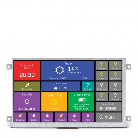 mikromedia hmi 7 smart display w 32 bit mcu and ft812 graphics