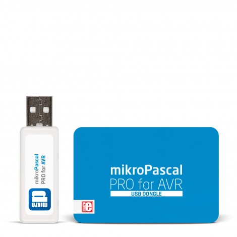 mikroPascal PRO for AVR (USB Dongle)
