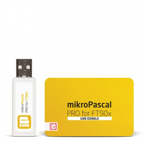 mikroPascal PRO for FT90x (USB Dongle)