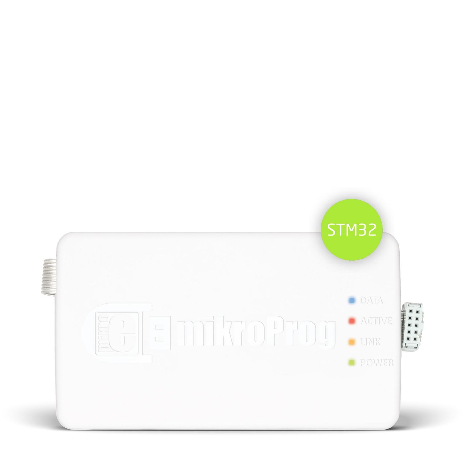 mikroProg for STM32 - ARM Cortex-M USB 2 0 Programmer / Debugger