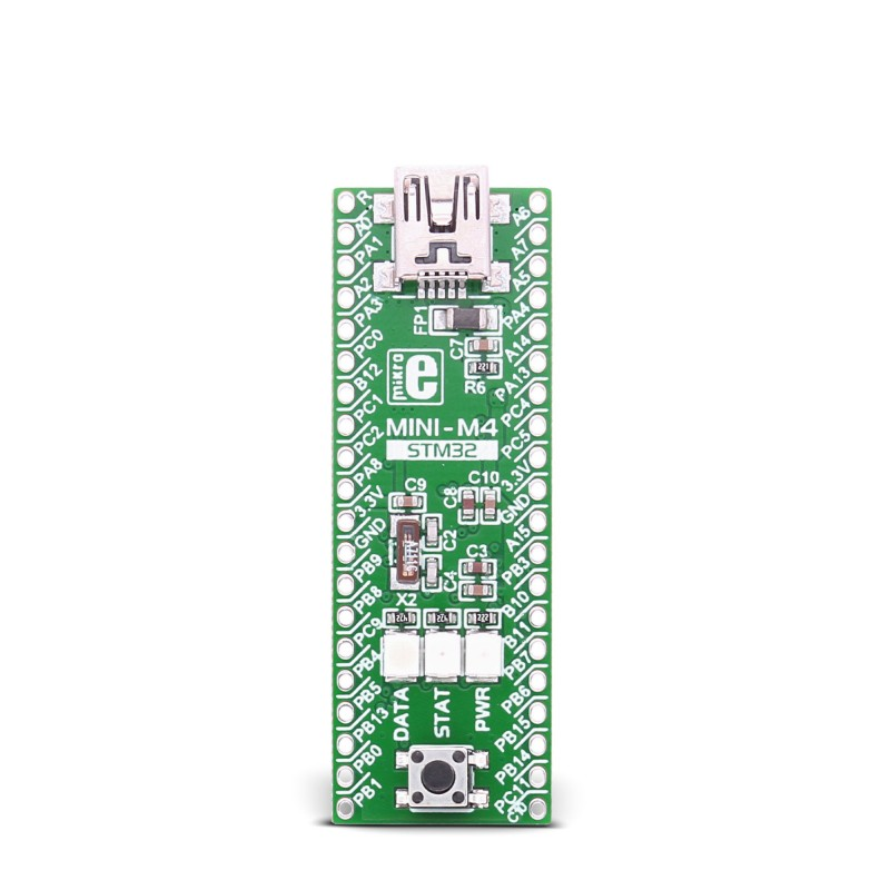 Mikroe MINI-M4 for STM32 front
