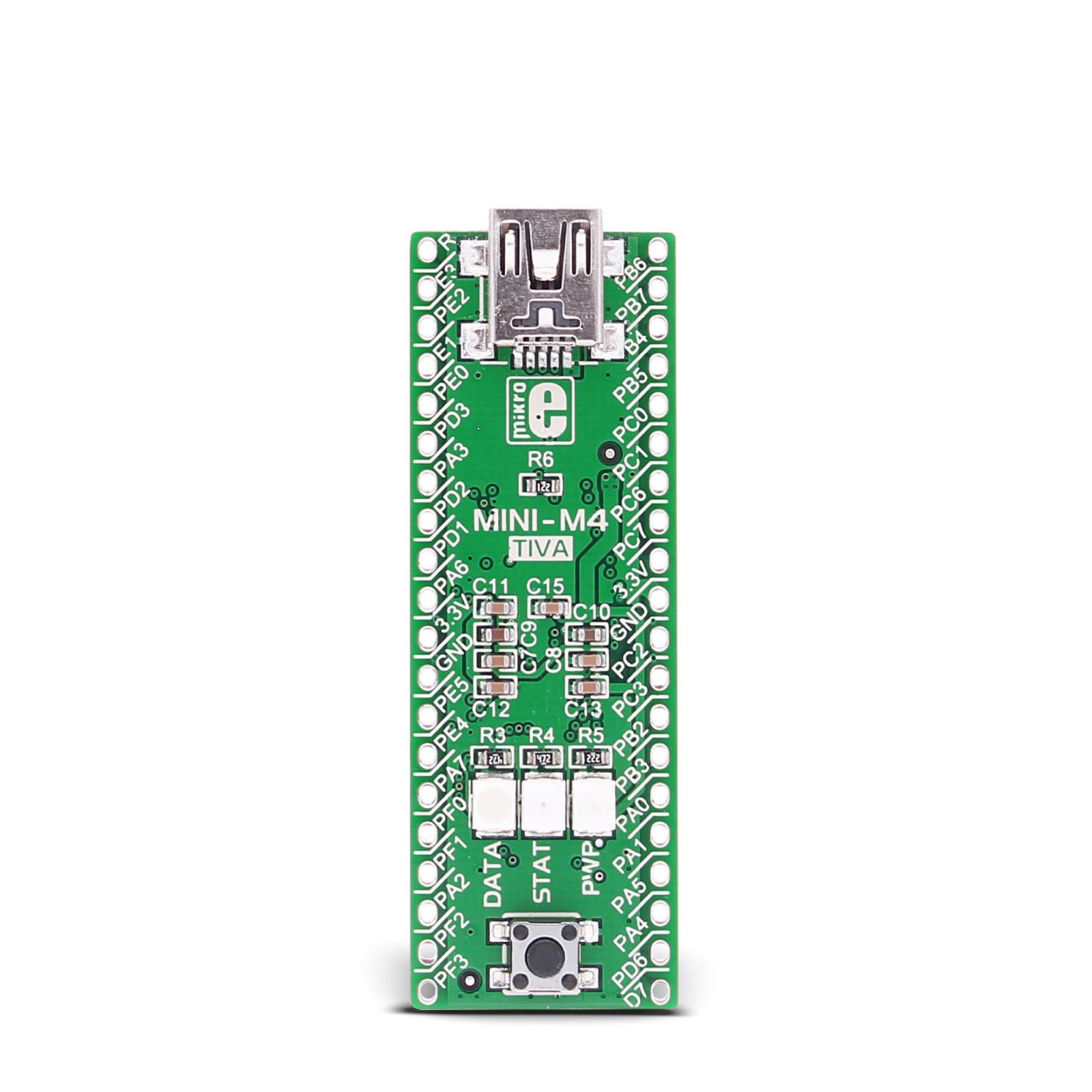 MINI-M4 for Tiva C Series - MikroElektronika