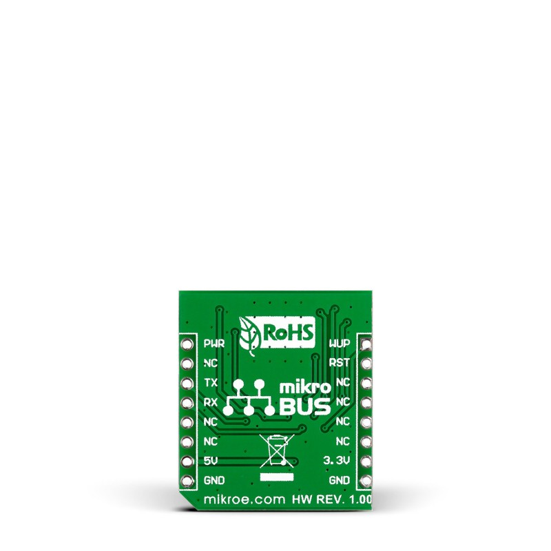 Nano GPS click — board with Nano Hornet GPS module