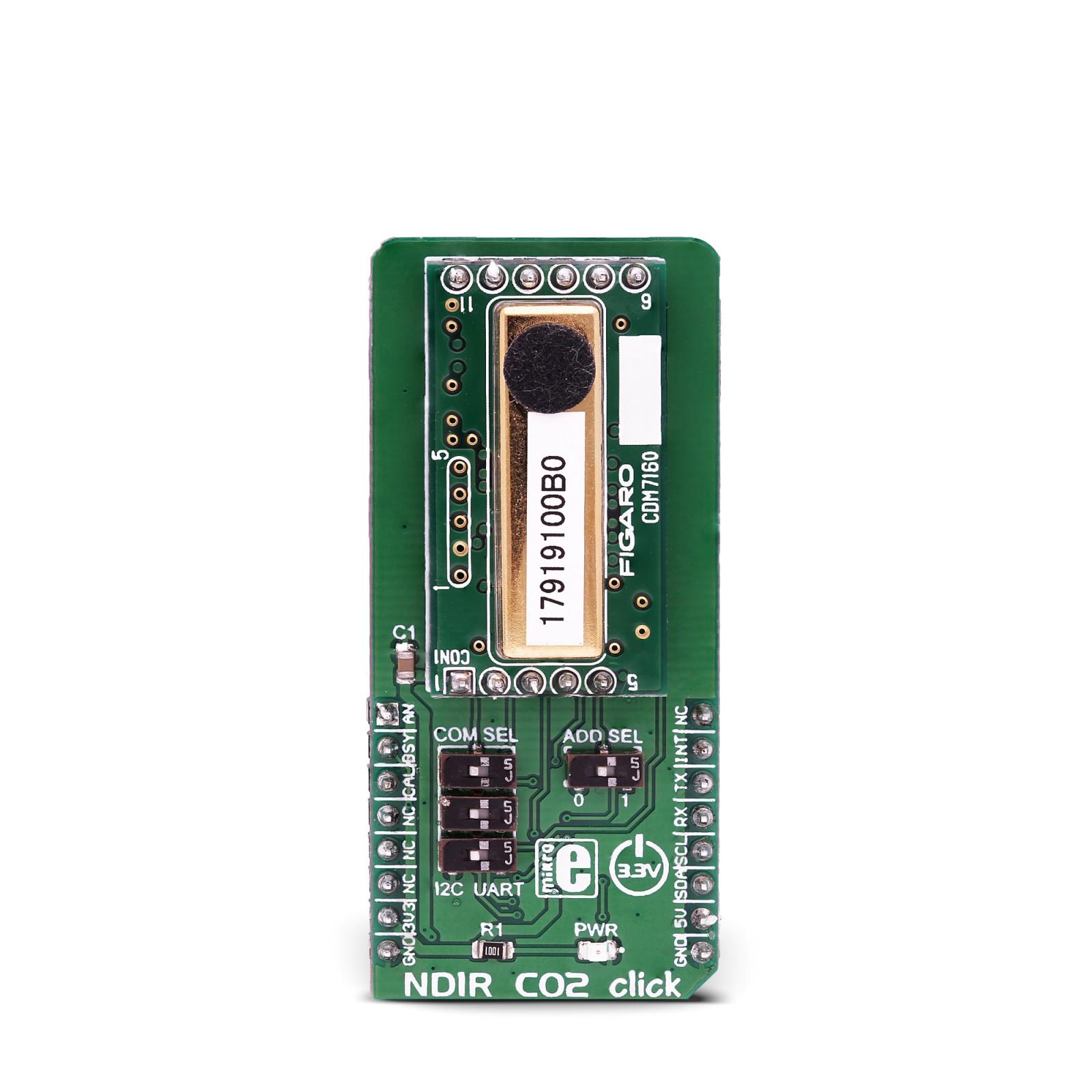 NDIR CO2 Click | Mikroelektronika