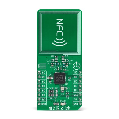 Shop Click Boards Wireless Connectivity RFID/NFC NFC 2 Click Front