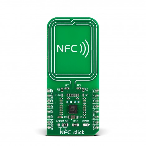 Mikroe Wireless Connectivity NFC click front