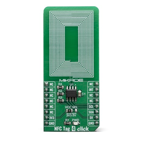 Click Boards Wireless Connectivity NFC Tag 4 Click front