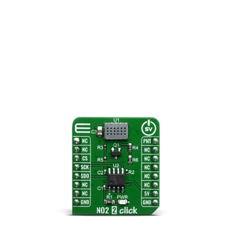 Shop Click Boards Sensors NO2 2 Click Front