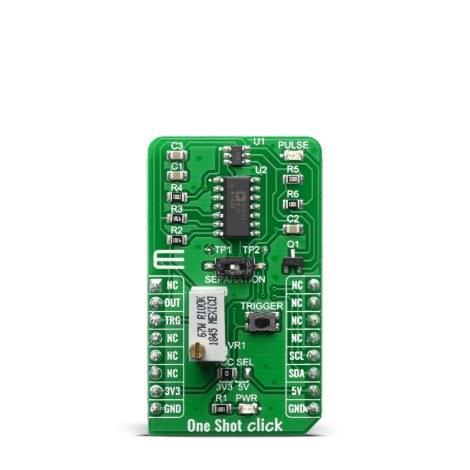 Click Boards Clock & Timing Clock generator One Shot Click Front