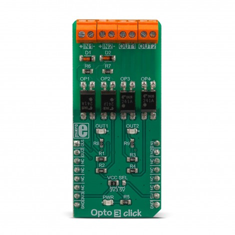 MikroE Click Boards Miscellaneous Opto 3 click front