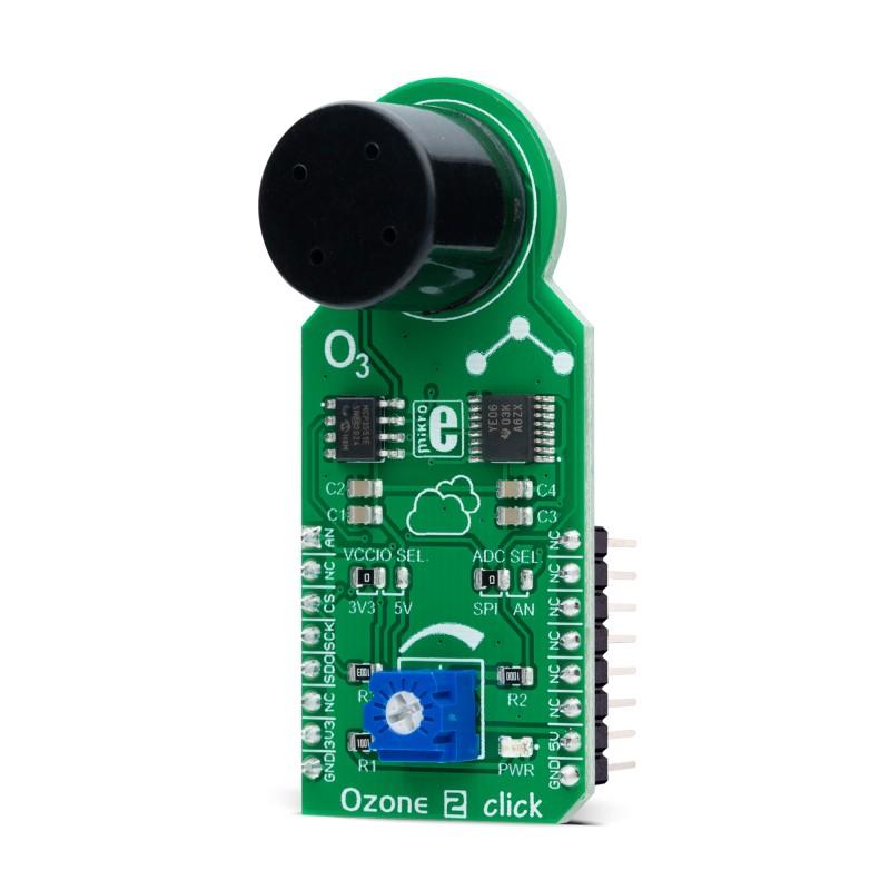 Ozone 2 click - board with an MQ131 sensor for O3 | MikroElektronika