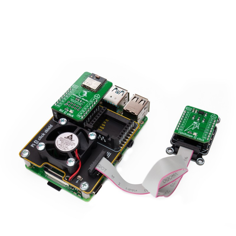 Shop Bundles-Kits-Shield Click Shields Pi 4 Click Shield in Positions