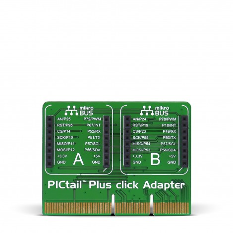 Mikroe PICtail™ Plus Click Adapter front