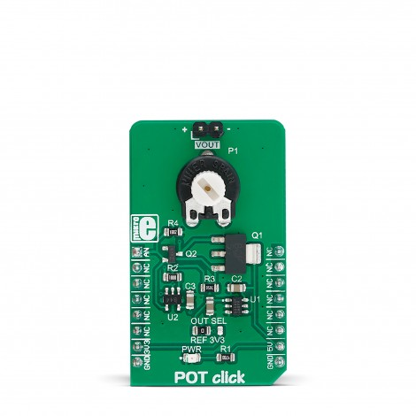 Mikroe Click Boards Mixed-Signal POT Click front